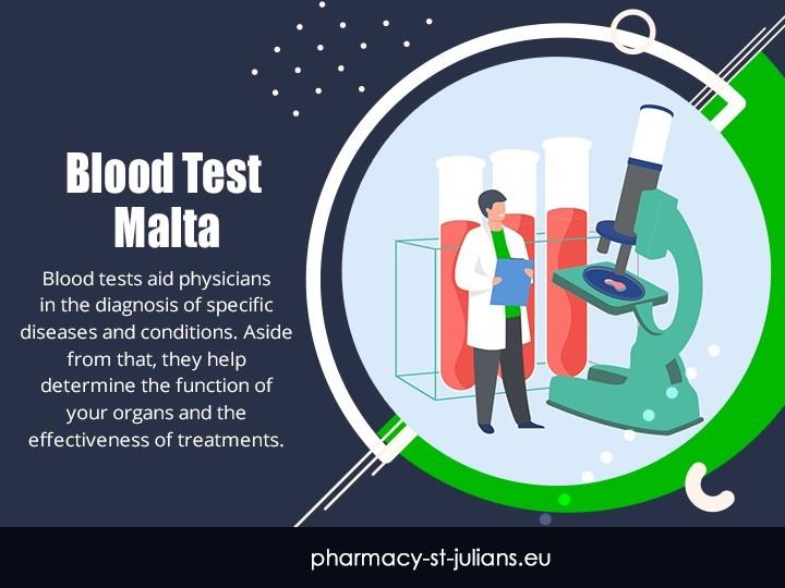 Blood Test Malta