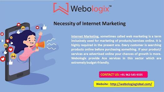 Necessity of Internet Marketing