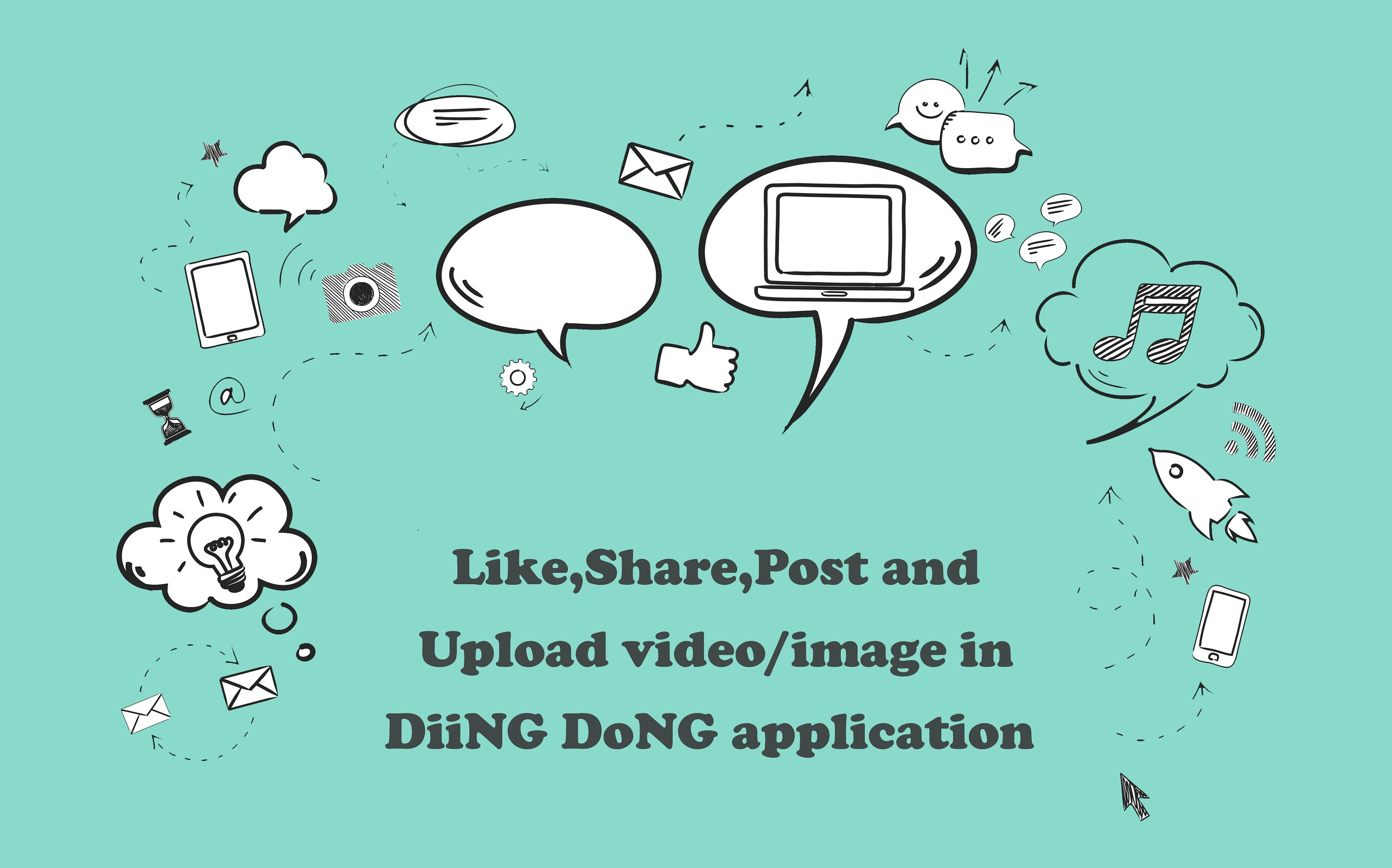 Diing Dong - Make your own music-videos and share it across the world.