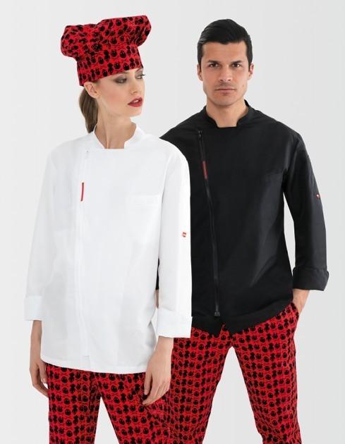Acquista la giacca da cuoco unisex Rain della migliore qualità
