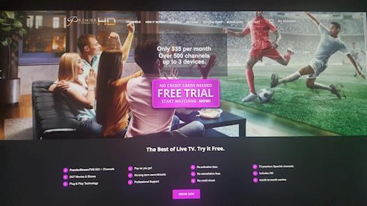 Premier Stream TV