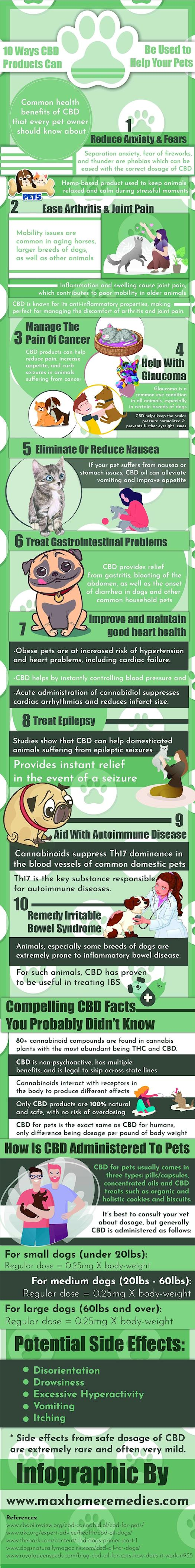 Health Benefits of CBD for Pets
