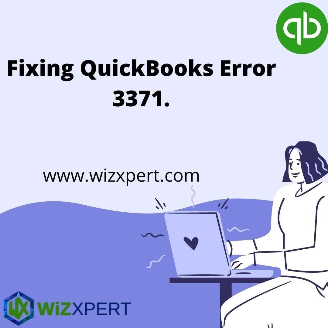 fixing QuickBooks Error 3371