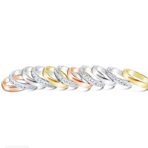 Fabulous Fashions Stackable Rings