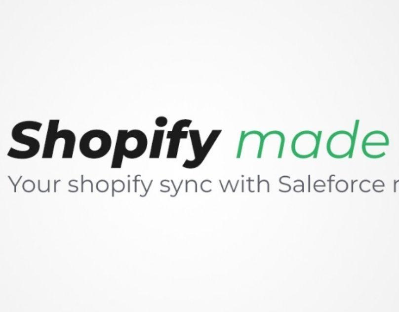 Shopify Salesforce integration app,  #1 Shopify Salesforce Connector,