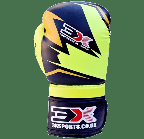 3X sports Training Gloves (X2 Floro/Black)