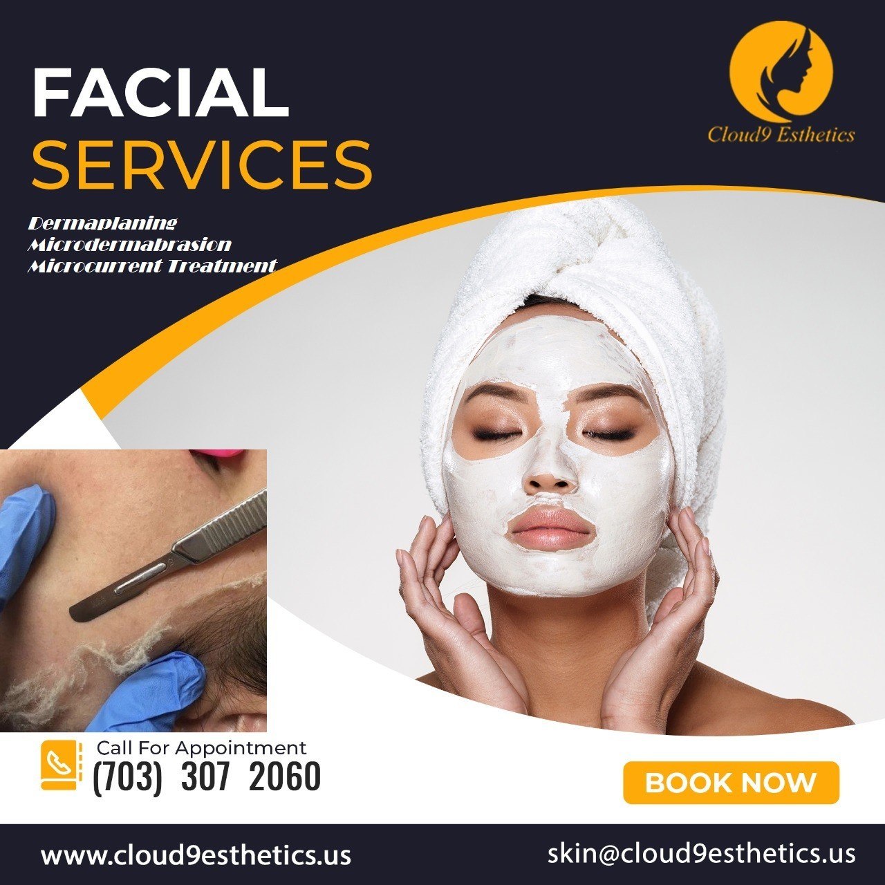 Dermaplaning, Microdermabrasion Facial Services in Manassas