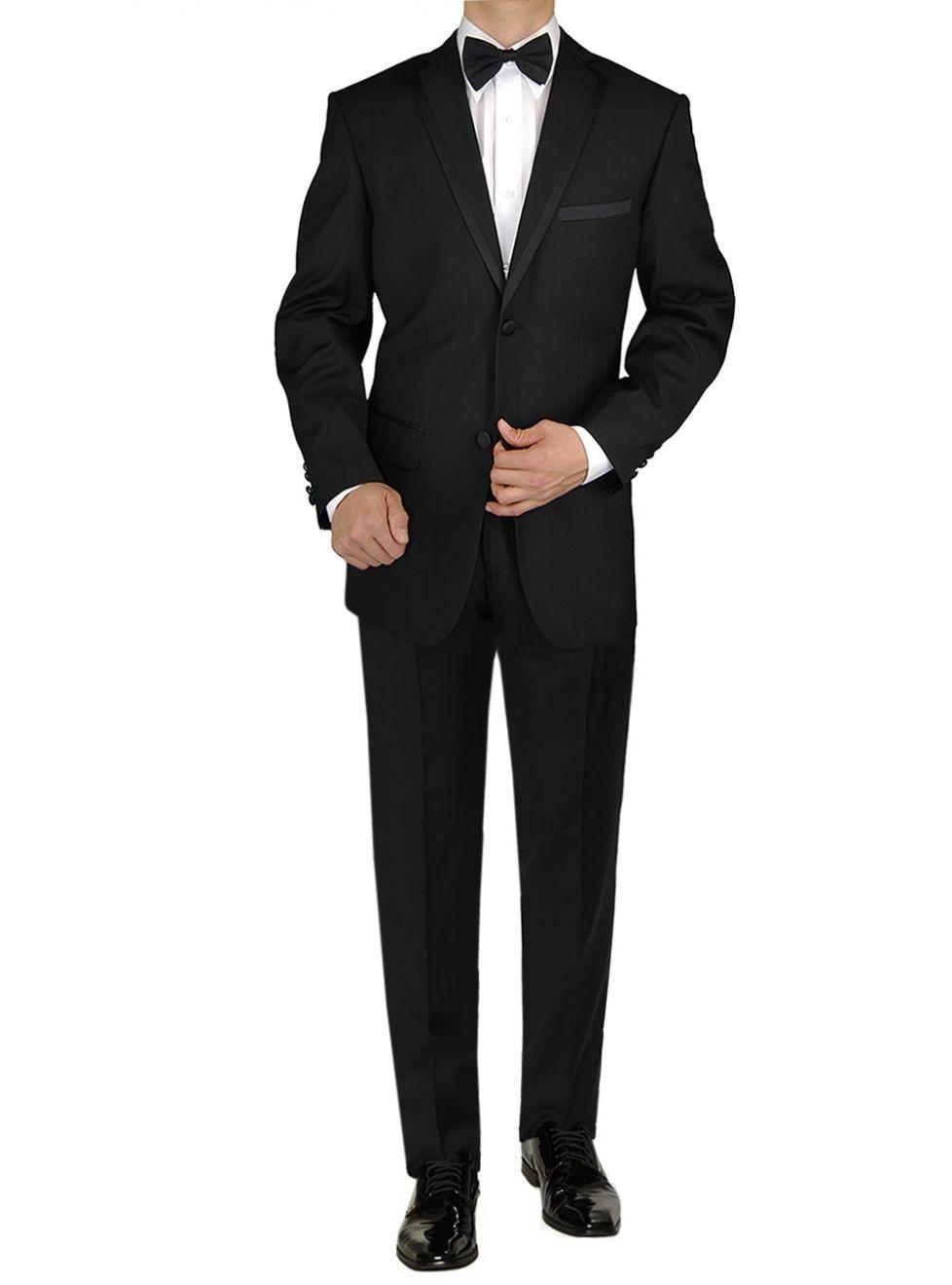 Mens Tuxedo Suit Two Button Jacket