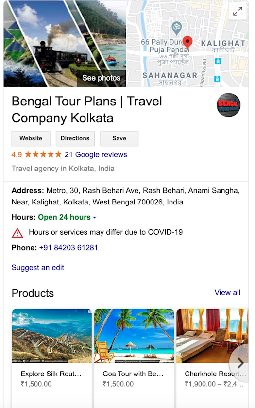 bengal tour plans travel agency kolkata