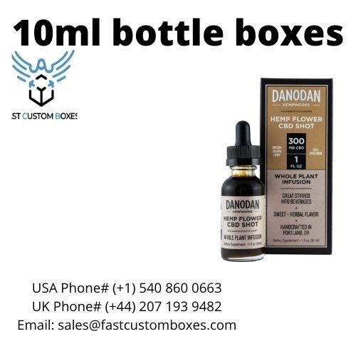 10ml bottle boxes