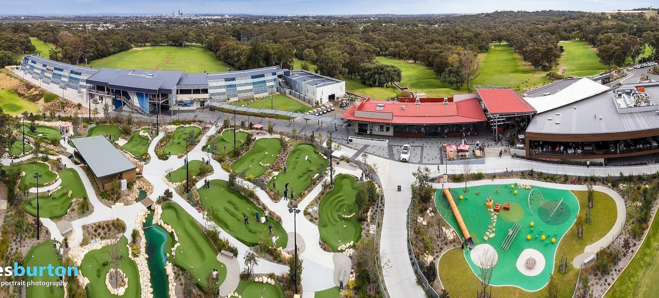 Public Golf Course in Perth