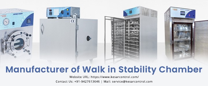Walk In Stability Chamber by Kesar Control Systems|Gujarat,India
