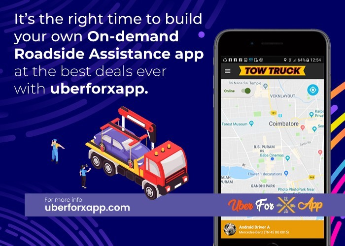On-Demand Roadside Assistance app