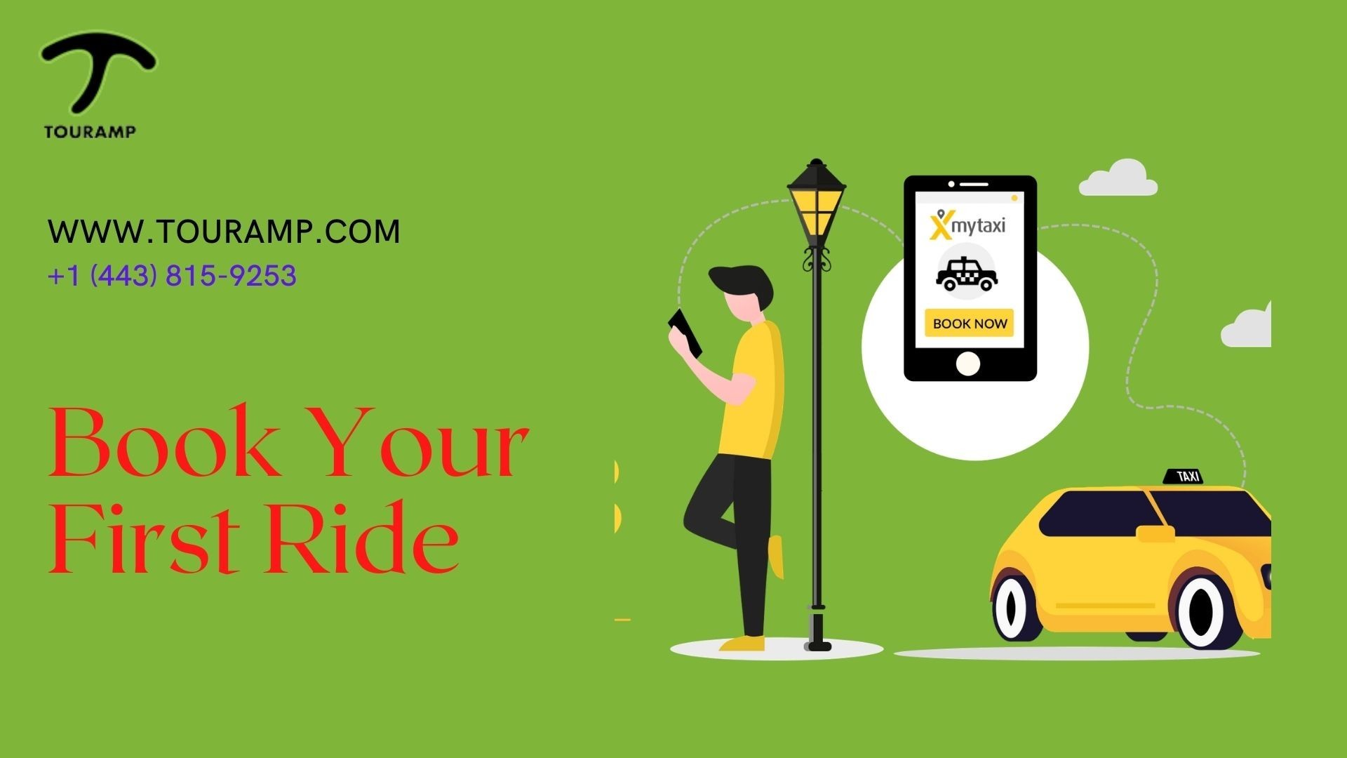 Touramp | Online Booking Cab in Baltimore