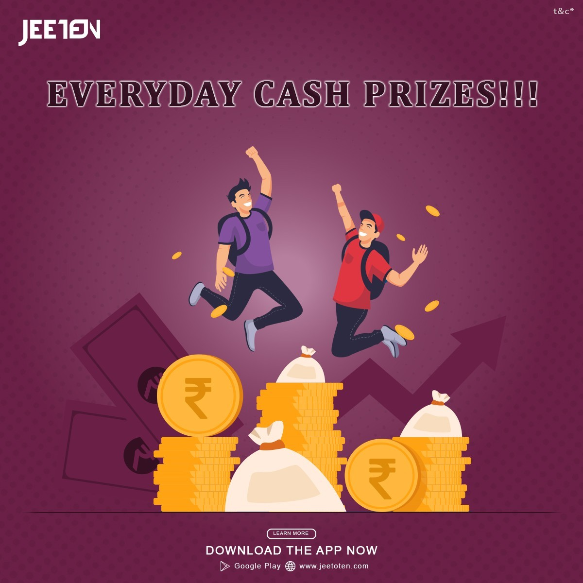 Play And Get Cash Prizes