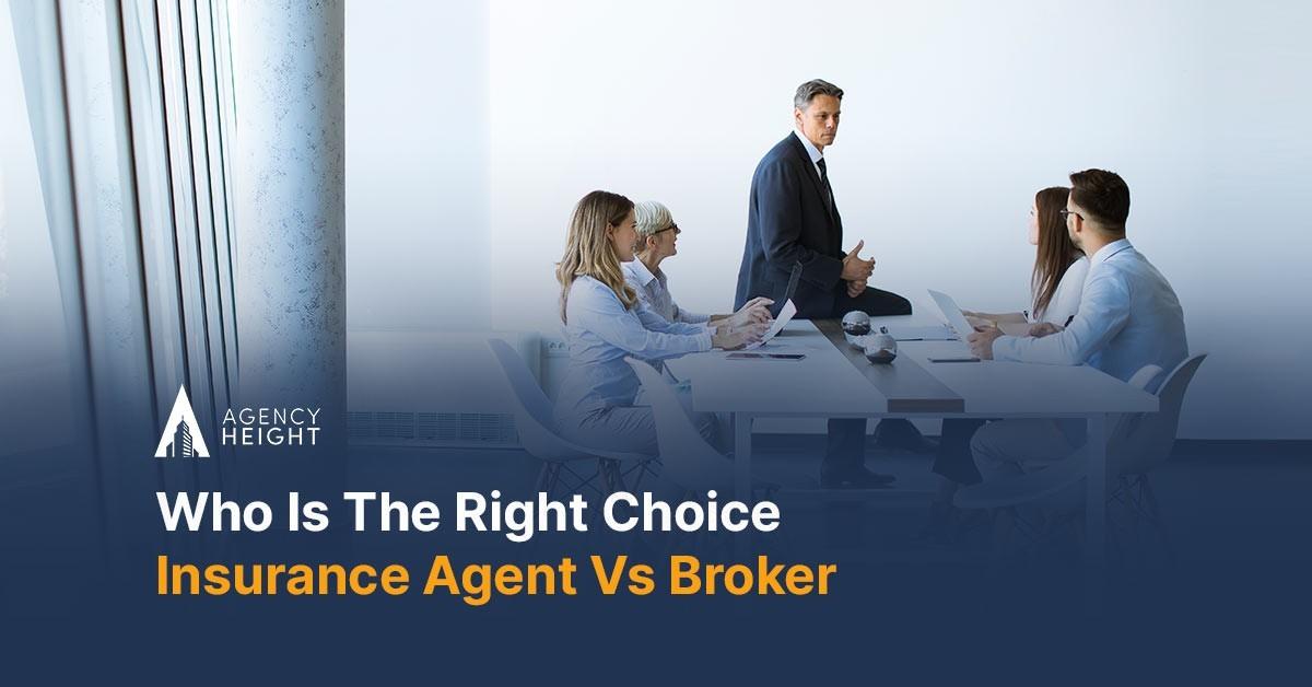 Insurance Agent Vs Broker