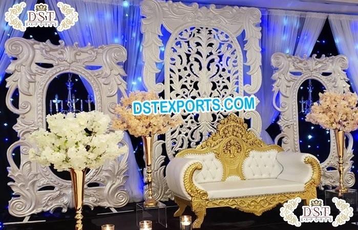 Stunning Wedding Reception Stage Toronto