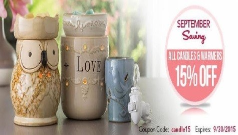 New Candle Line ~ September Savings