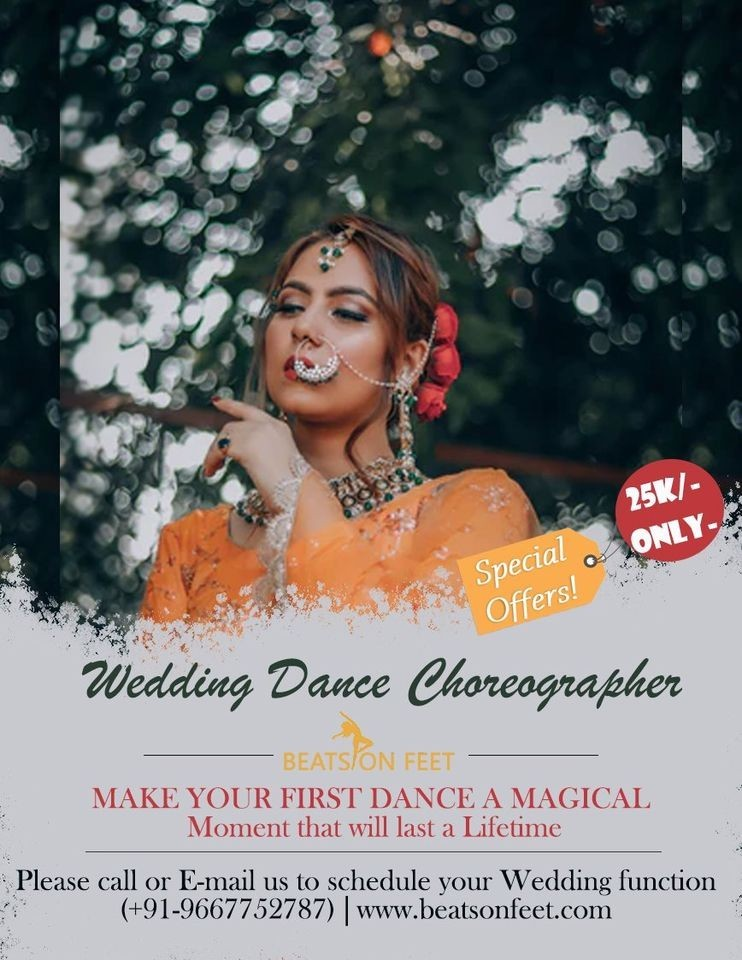 Wedding Choreographer Near me