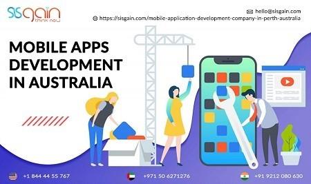 Top Mobile Application Development Company in Australia | SISGAIN