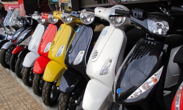 Scooter and moped demand triples as commuters look to shun buses and trains.