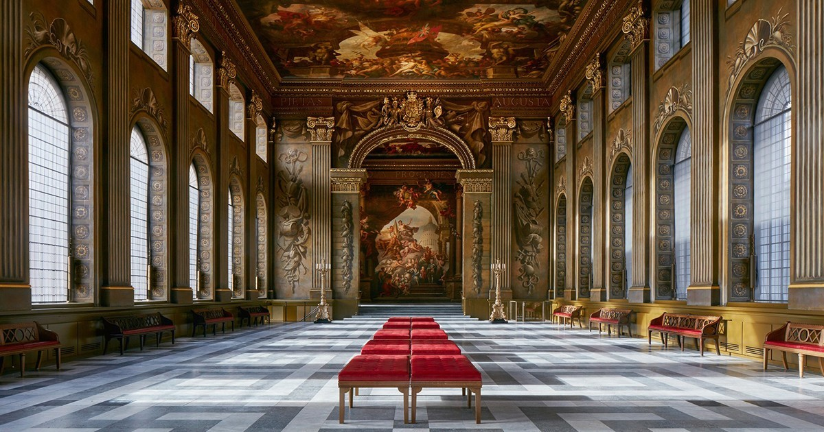 The Painted Hall at the Old Royal Naval College London