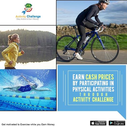 ACTIVITY CHALLENGE-THE BEST HEALTH AND FITNESS APP