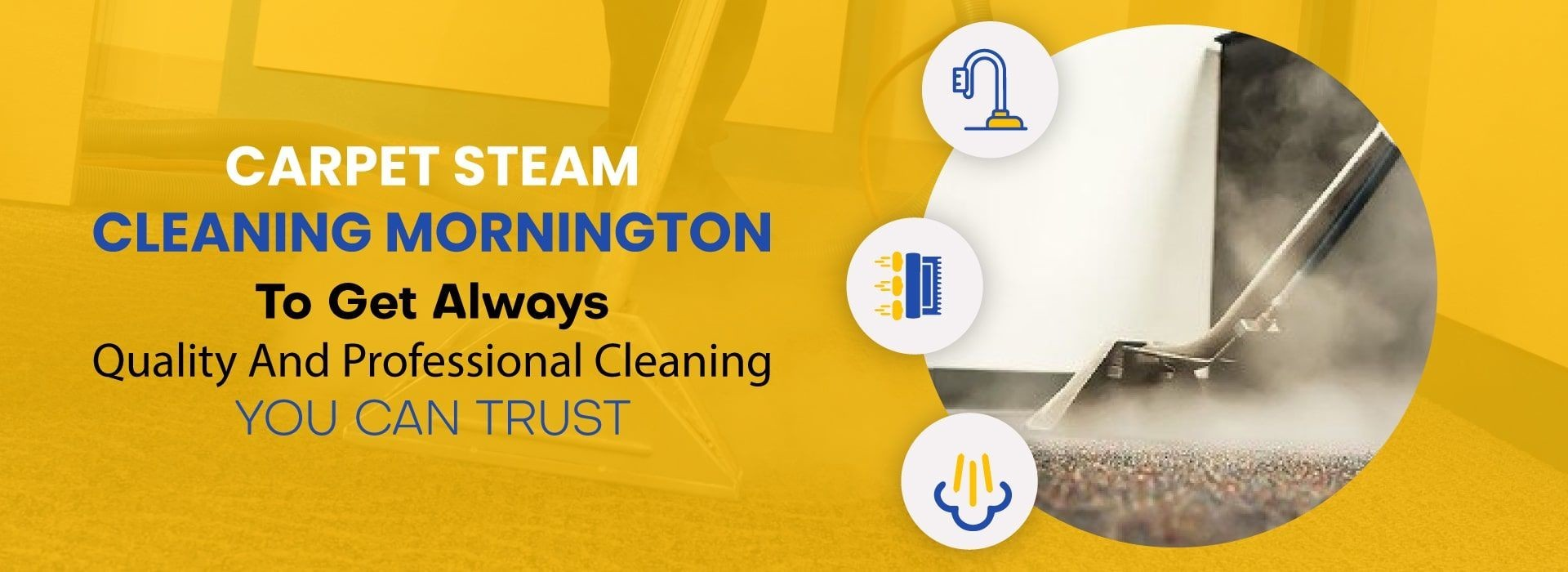 Carpet Steam Cleaning Mornington
