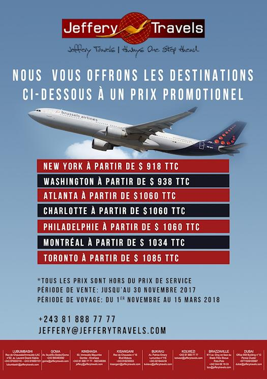 American & canadian cities promotion offer