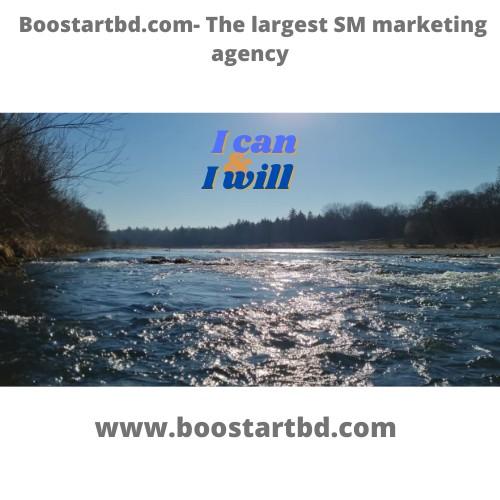 Boostartbd.com- The largest SM marketing agency