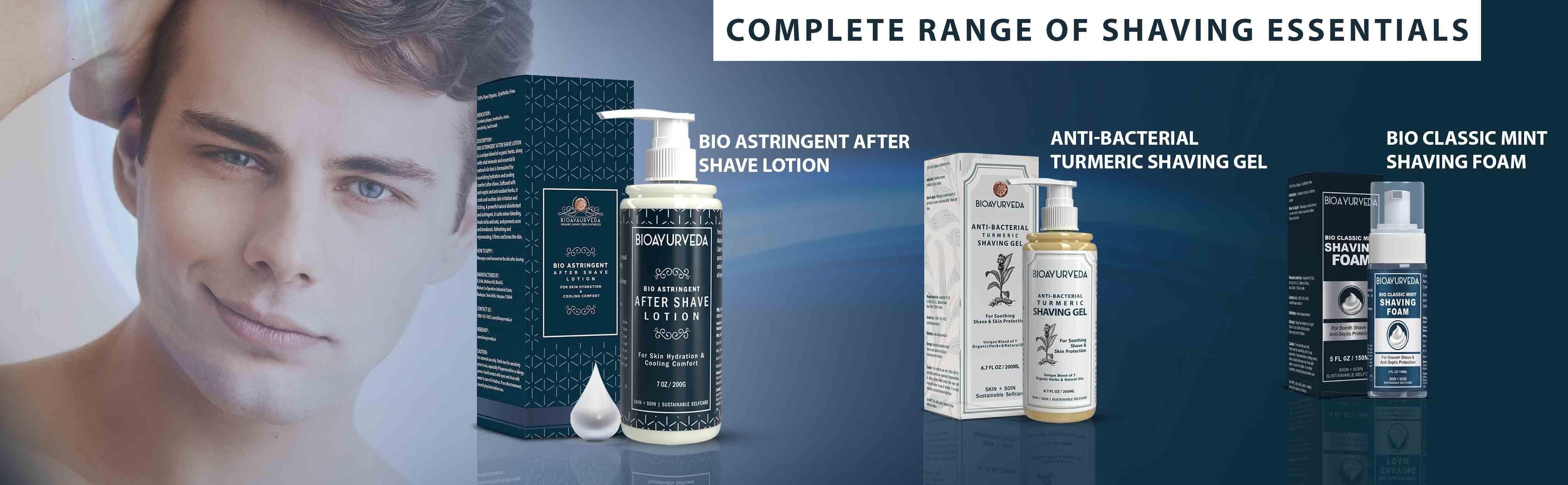 Shaving Foam, ahaving range
