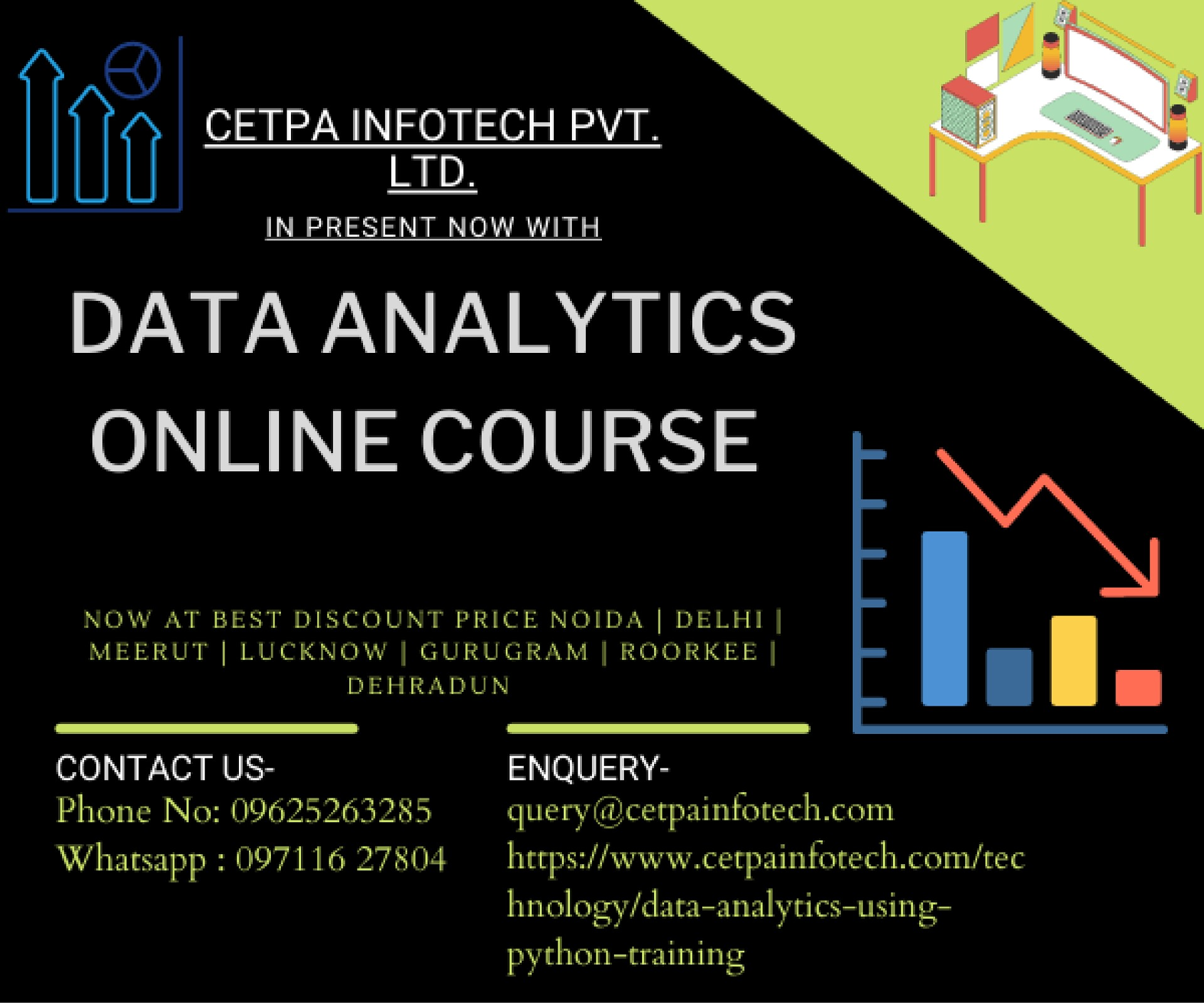 Data Analytics Online Course With Best Discount Price Now