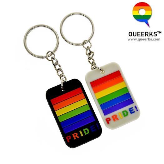 LGBT Pride Keychain - FREE Shipping