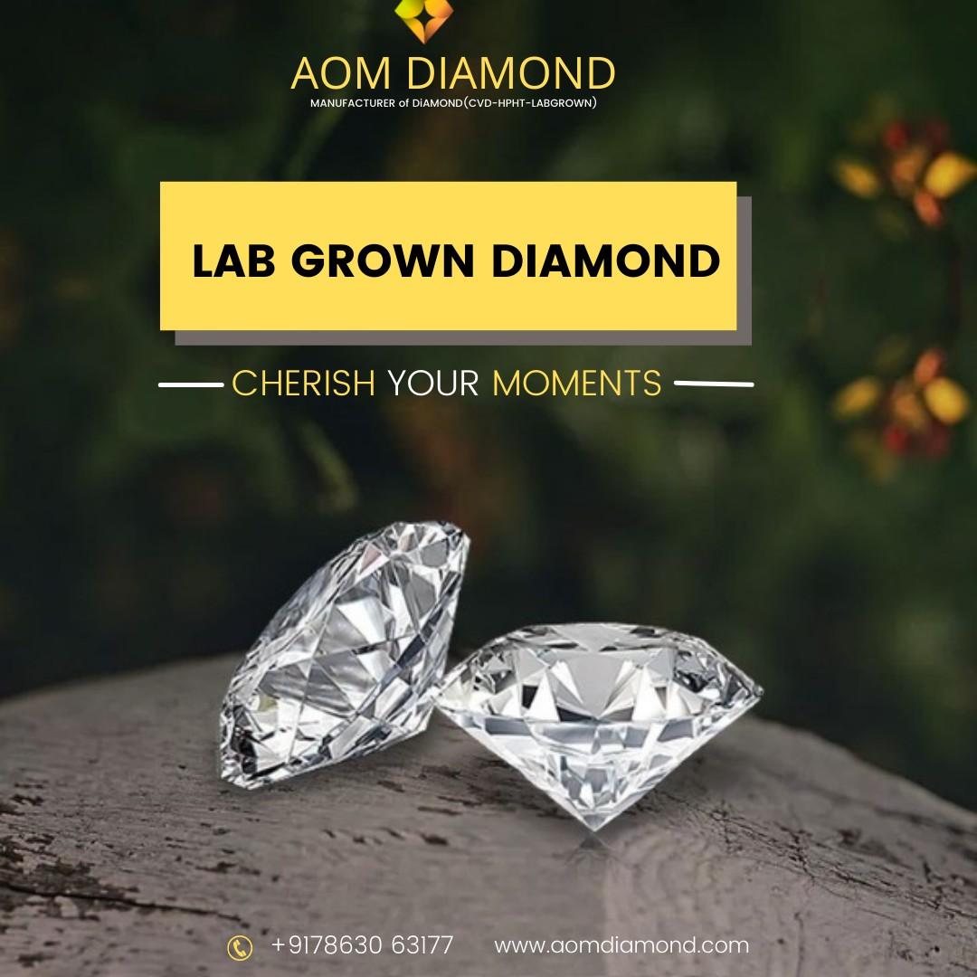Buy Lab Created Diamonds | Aom Diamond