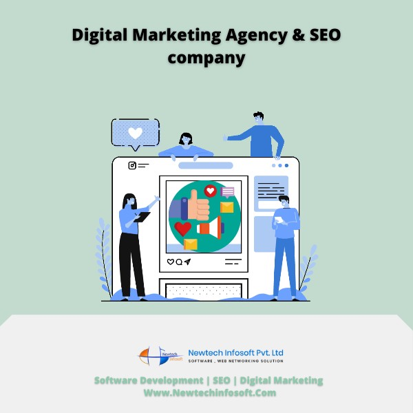 The Digital Marketing Agency & SEO company in Ahmedabad — Www.Newtechinfosoft.Com!