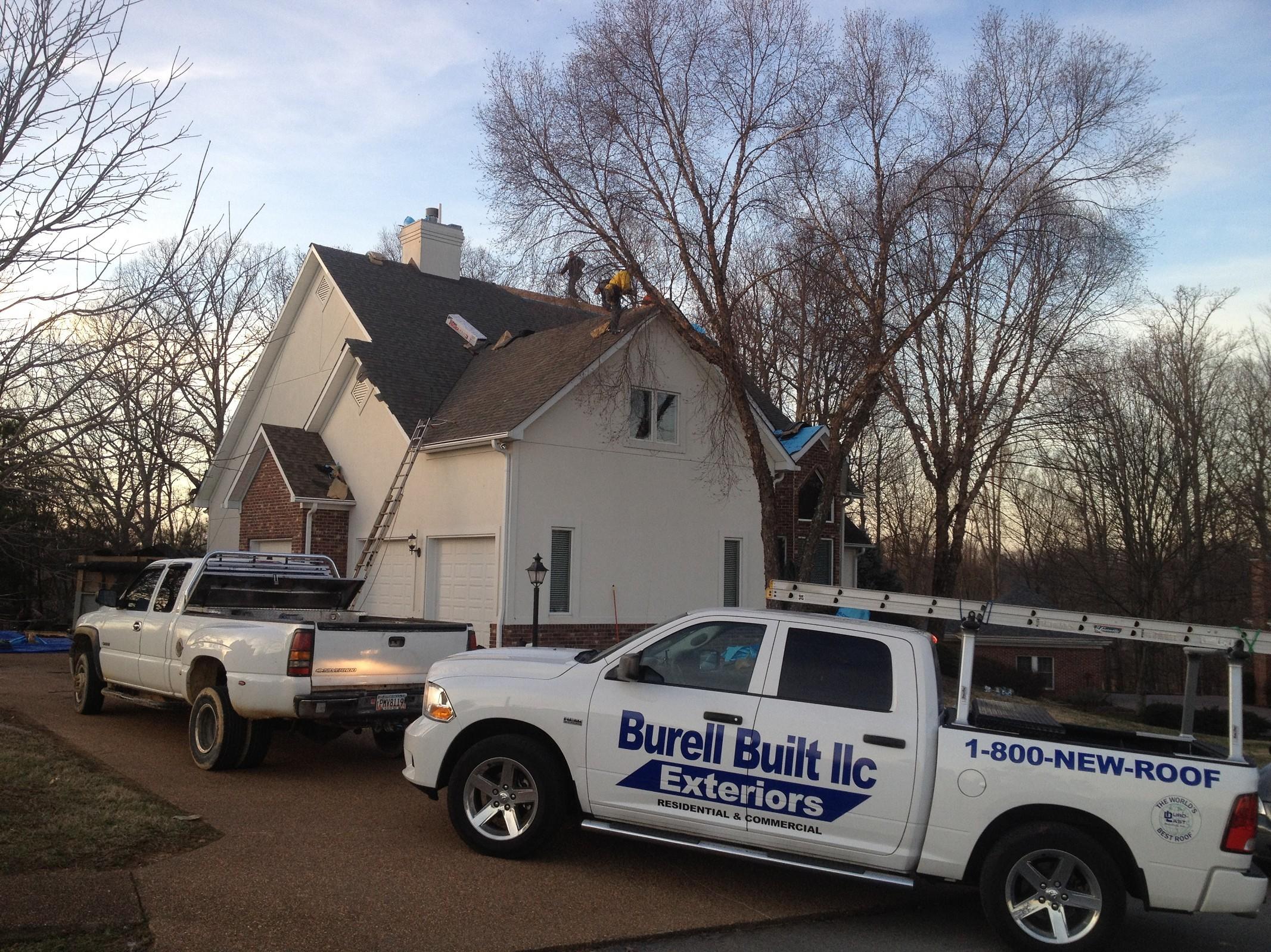 Residential roof repair Knoxville TN - Burell Built Exteriors