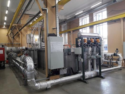 Flow meters calibration equipment