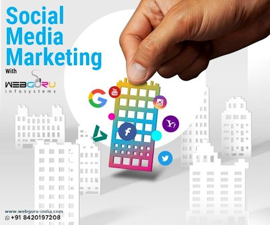 Social Media Marketing With Webguru Infosystems