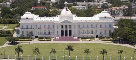 Foto Palacio Presidencial Haiti