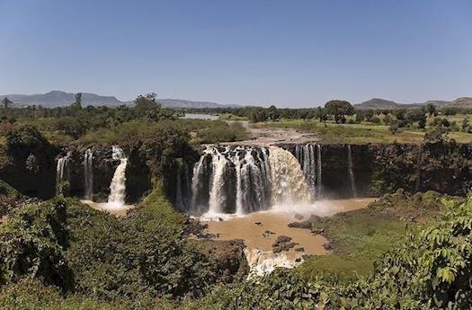 Blue Nile Falls