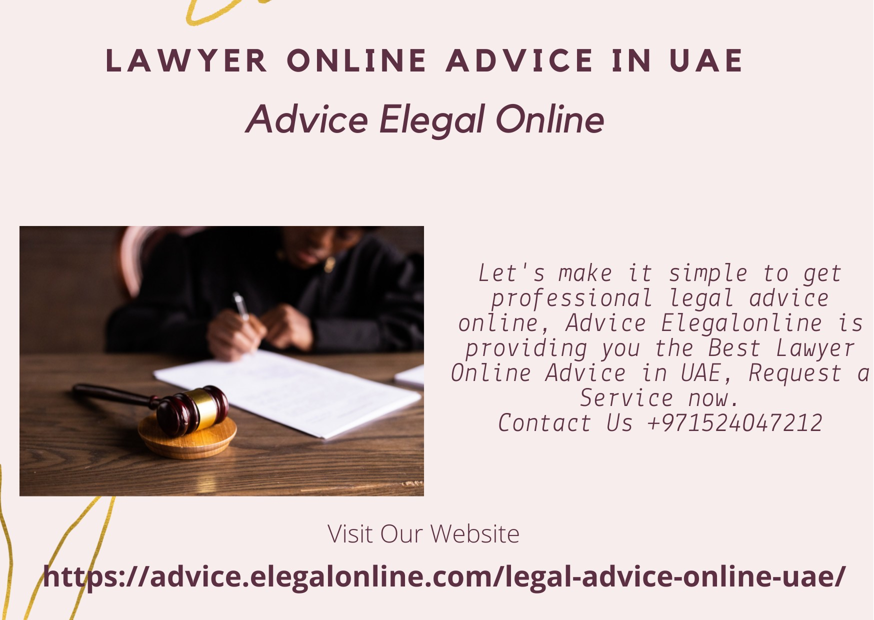 Lawyer Online Advice in UAE | Advice Elegalonline - UAE