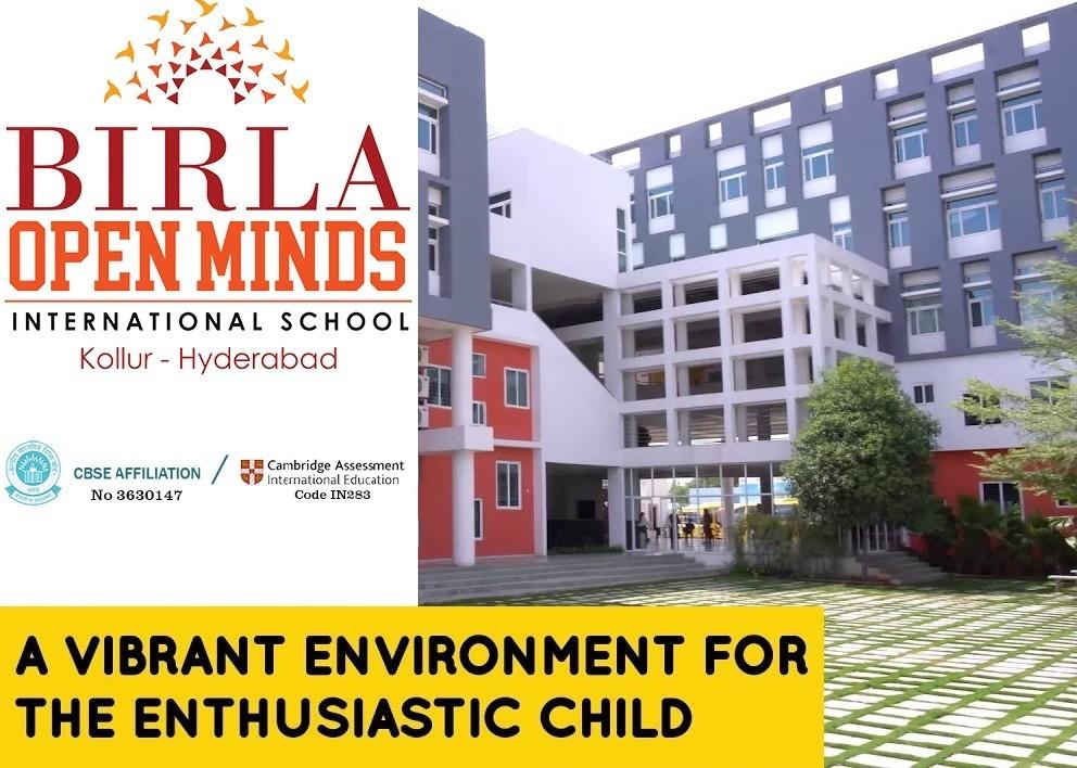 Best CBSE School in Hyderabad - Birla Open Minds International School