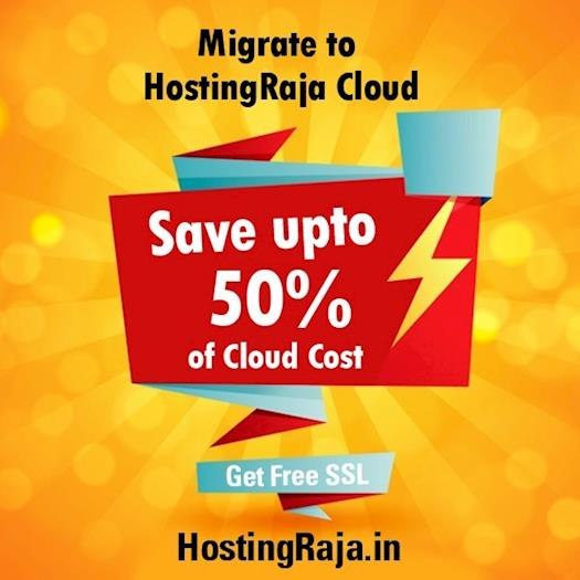 Cloud Hosting from HostingRaja