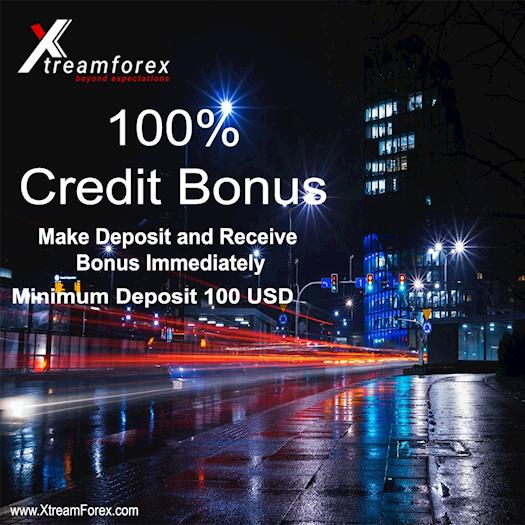 100% Credit Bonus