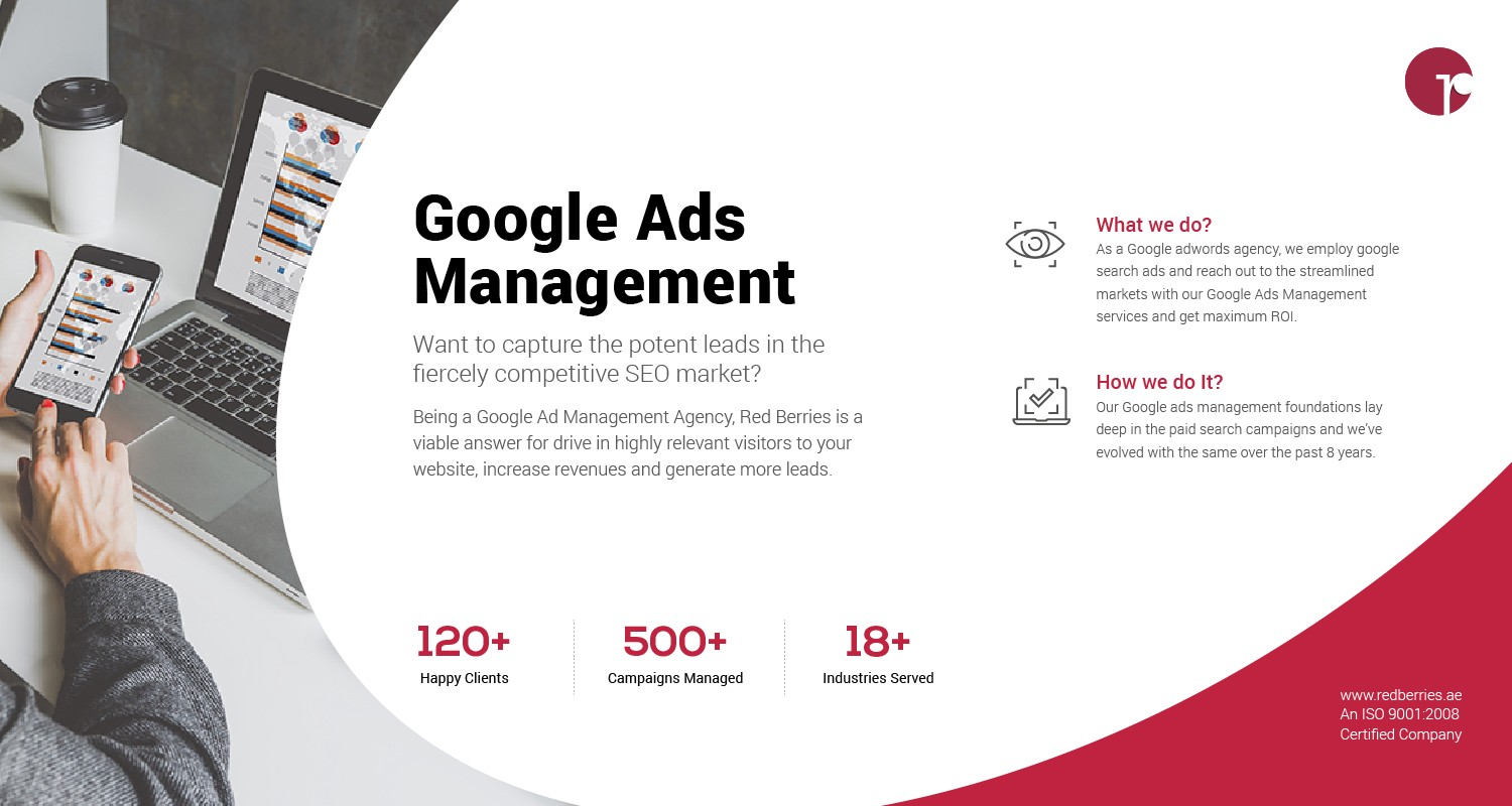 Red Berries Google Ads Management | Best PPC Agency in Dubai