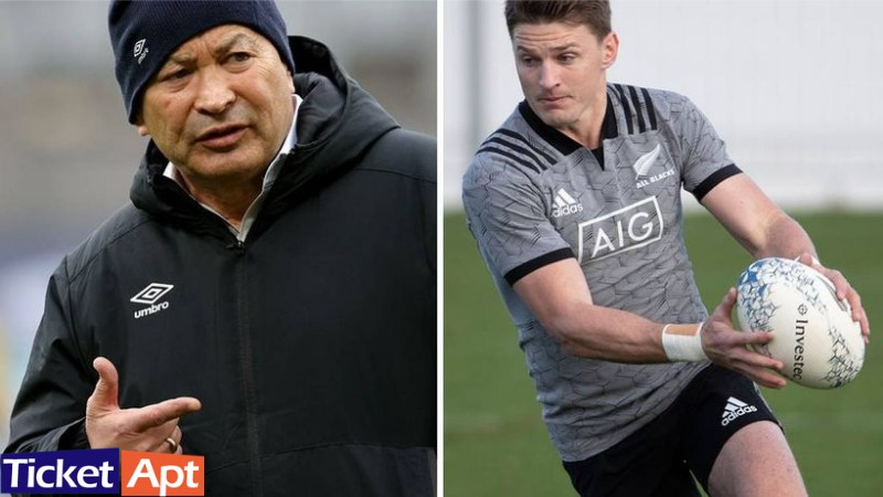All Blacks: Eddie Jones ''Golden advice'' by Beauden Barrett's
