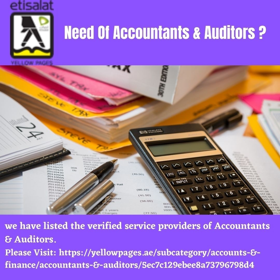 Searching For Certified Accountants & Auditors in UAE?