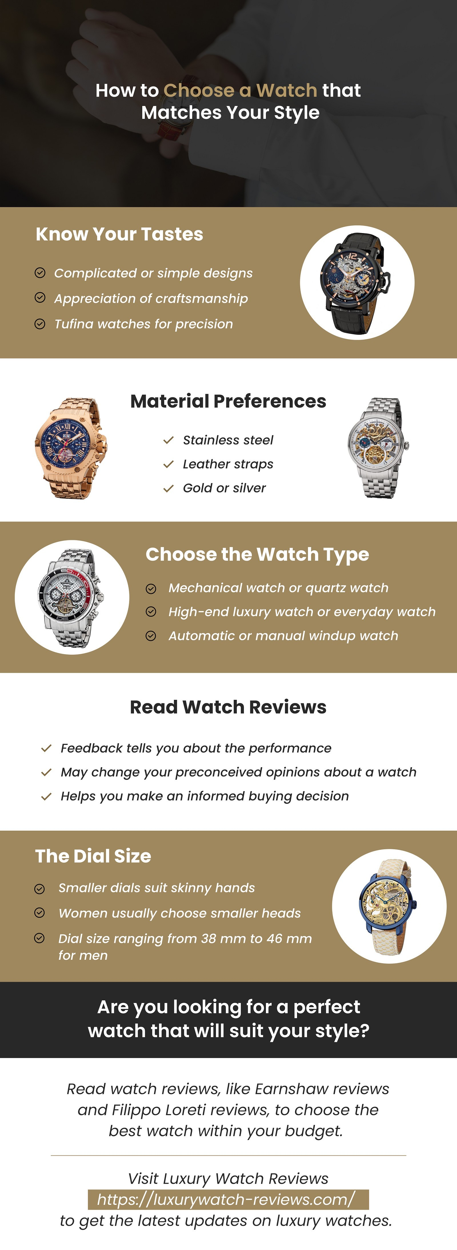 Luxury Watches That Match Your Personality