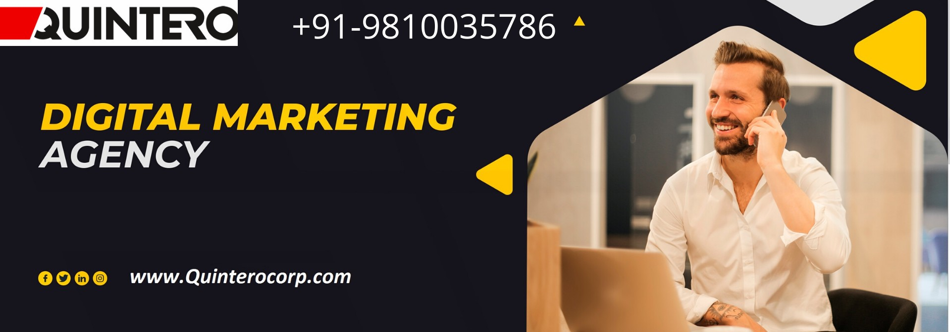 Get Best Digital Marketing Services in Delhi, India from Quintero Solutions