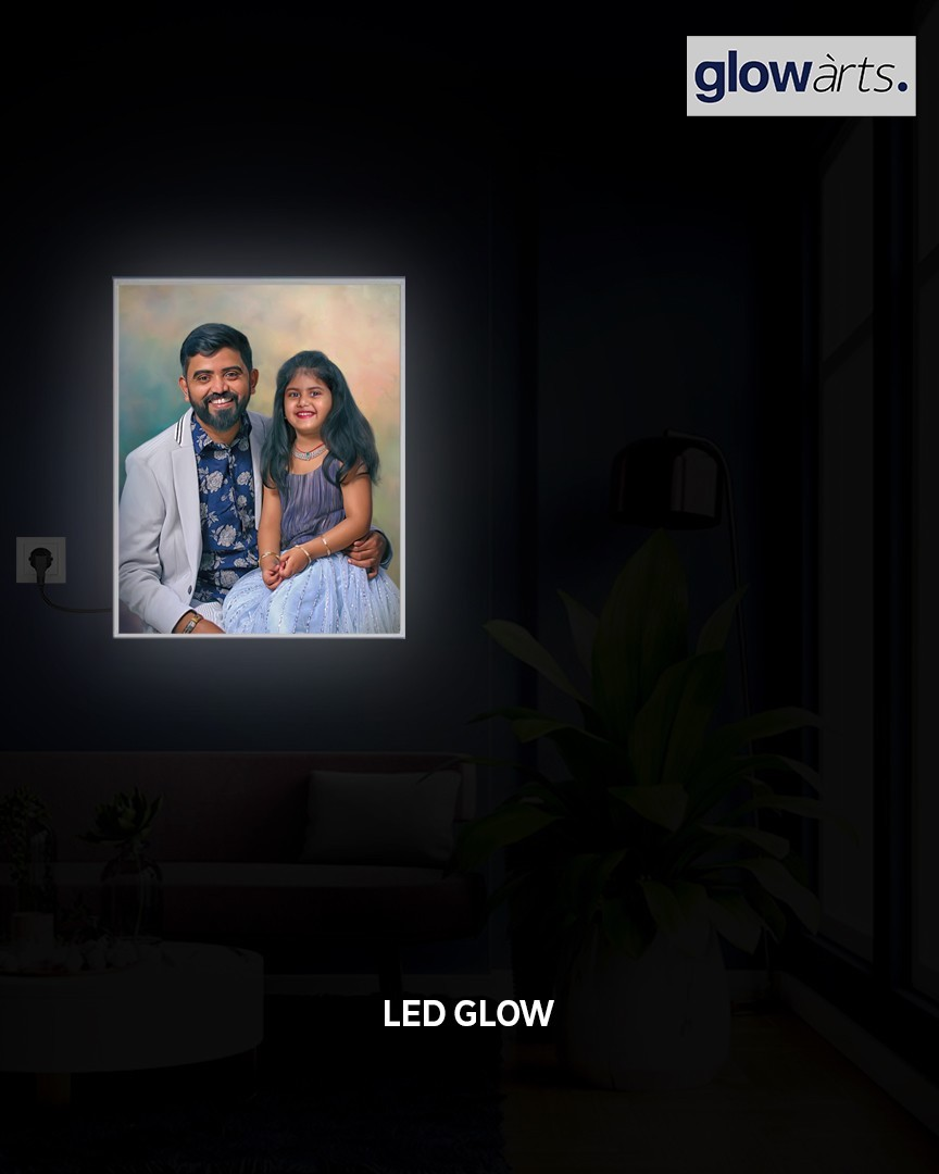 Led Backlight Painting in jubilee hills